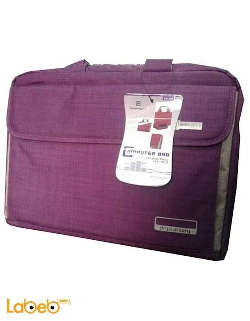 حقيبة لاب توب Brinch حجم 14.6 انش بنفسجي BW-216