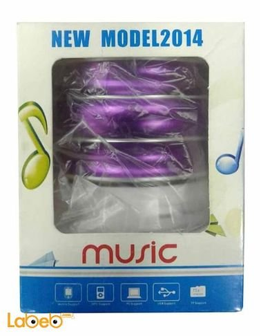 Music bluetooth speaker Purple color