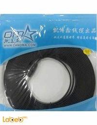 كابل شاشة HDMI اوما 10 امتار لجميع انواع الشاشات أسود