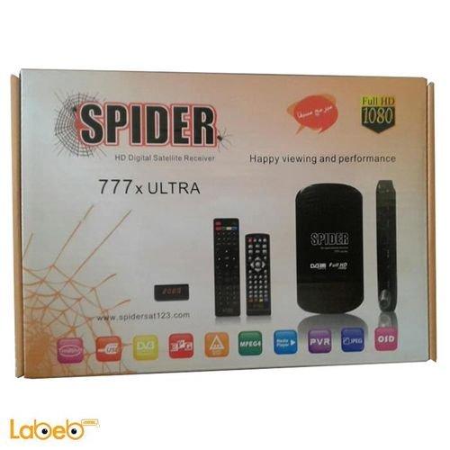 رسيفر 777xULTRA سبايدر USB اتش دي ام اي 5000 قناة
