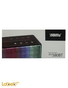 Aibimy Wireless Bluetooth Speaker - USB port - Blue - MY-580BT