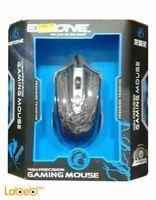 Black Estone Gaming Mouse 2400dpi X6