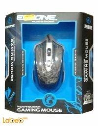 ماوس ألعاب سلكية ايستون 2400dpi لون أسود X6