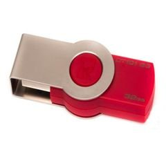 Kingston 32GB DataTraveler 101 G3 - USB 3.0/2.0 Flash Drive - Red