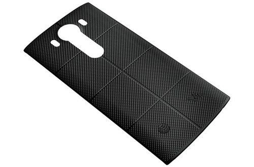 Black LG V10 smartphone cover