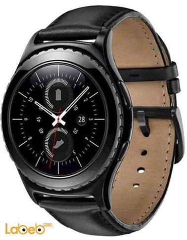 black Samsung Gear S2 Classic SM-R732