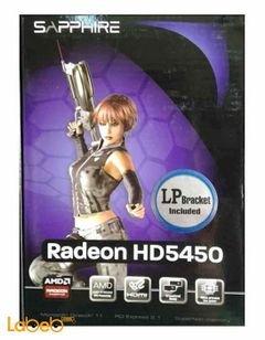 كرت شاشة SAPPHIRE - ذاكرة 1024 ميجابايت - Sapphire Radeon HD5450