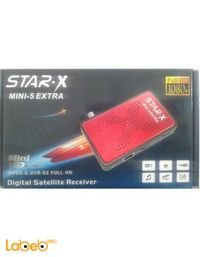 رسيفر ستار اكس ميني 5 اكسترا 5000 قناة star-x mini-5 extra