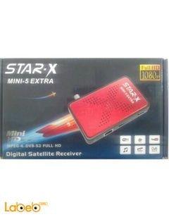 رسيفر ستار اكس ميني 5 اكسترا - 5000 قناة - star-x mini-5 extra
