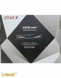 رسيفر ستار اكس 5000 قناة مدخل USB لون اسود x2626 laser