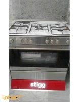 Stainless Steel Stigg Oven 114L 5 Burners sgg9558ad