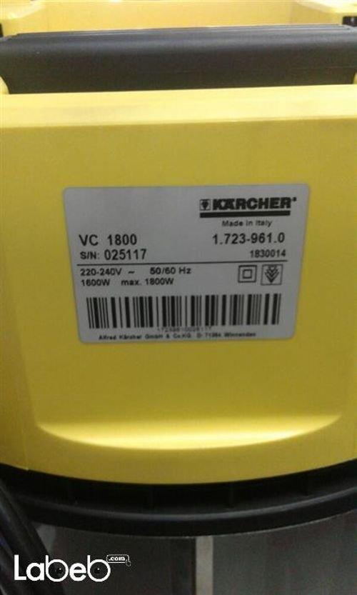 مكنسه كهربائية KARCHER موديل VC 1.800