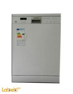 Sharp dishwasher - x12 seats - White color - QW-V634Z