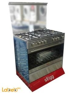 Stigg Cooker - 114L - 5 Burners - Stainless Steel - sg g9558 ad