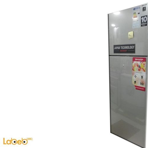 Sharp refrigerator top freezer 627Liters Silver SJ-SC76V-SL
