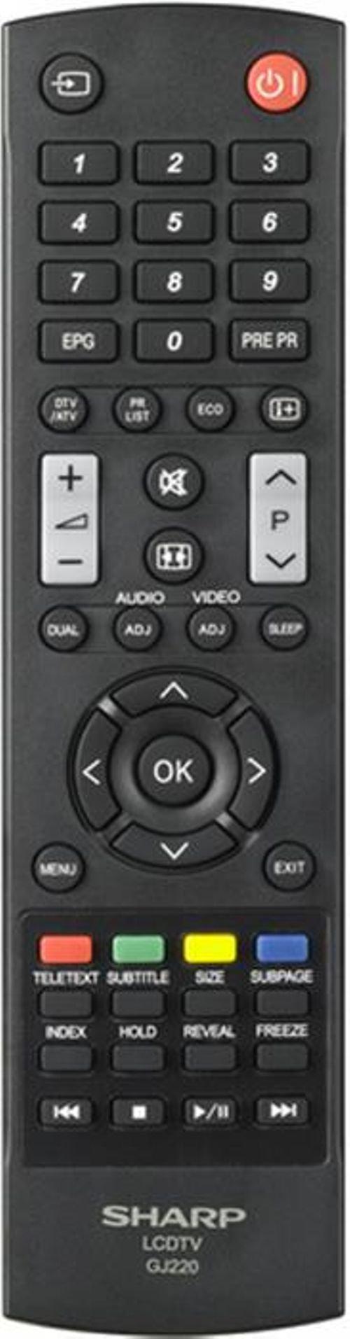 جهاز تحكم شاشة Led شارب 50 انش اسود ld264e