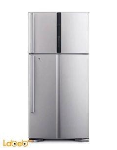 ثلاجة هيتاشي - حجم 30 قدم - سعة 550 لتر - لون فضي - R-V660PJ3
