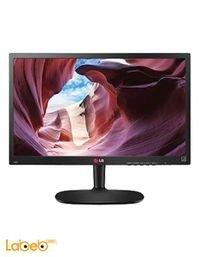 شاشة كمبيوتر LG حجم 20 انش ال اي دي اسود 20M35A
