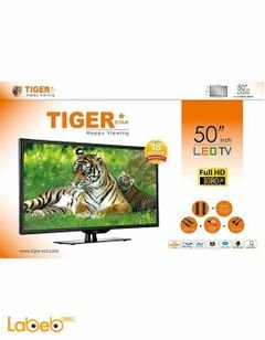 Tiger LED TV - 50 Inch - 1080x1920p -Black - Model 50LED-JO5048