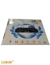 رسيفر ماجيك مدخل USB واي فاي لون اسود Magic T7100 I