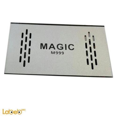 رسيفر ماجيك M999 مدخلين USB واي فاي 8000 قناة لون فضي