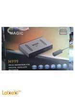 رسيفر ماجيك M999 مدخلين USB واي فاي 8000 قناة فضي