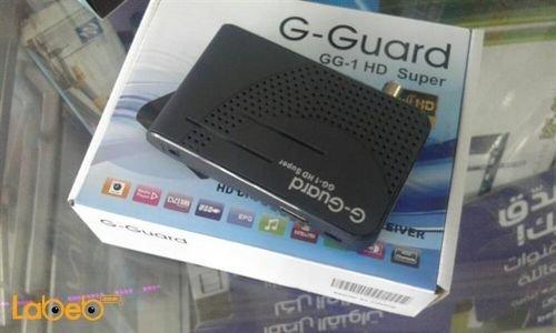رسيفر G-GUARD دقة 1080 بكسل 4000 قناة موديل GG-1 HD SUPER