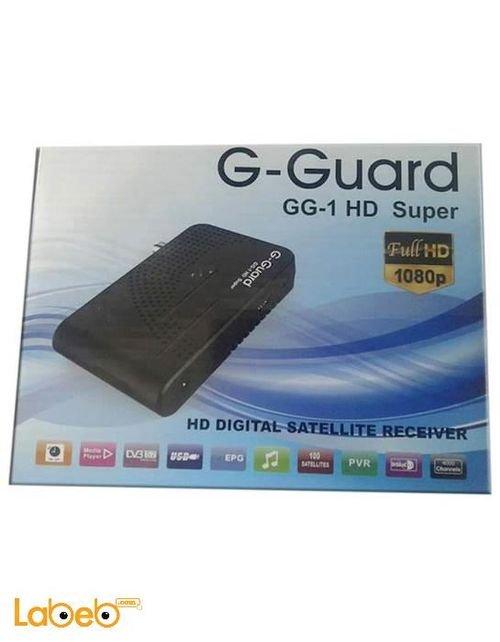 رسيفر G-GUARD دقة 1080 بكسل  4000 قناة GG-1 HD SUPER