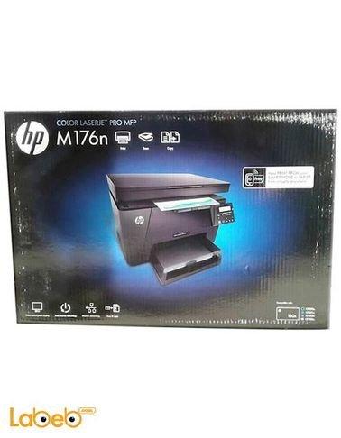 طابعة HP ليزر - متعددة الوظائف - USB 2.0 - موديل M176n