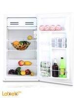 White Midea mini bar refrigerator HS-121LN