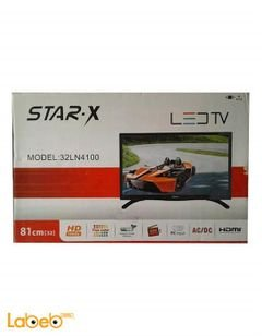 Star-X LED TV - 32inch - USB port - HDMI - black - 32LN4100