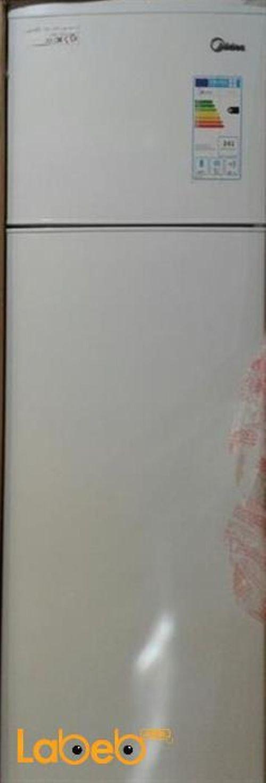 ثلاجة بفريزر علوي ميديا HD-341FN  ابيض