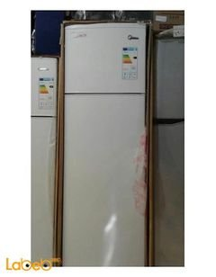 Midea Refrigerator top mount - 262 liters - white - HD-341FN