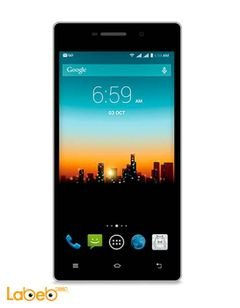 Posh Kick X511 mobile - 8GB - Dual Sim - 5 inch - white color
