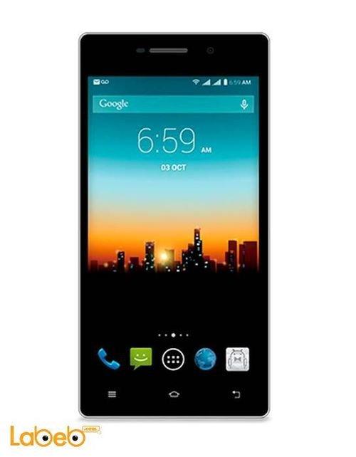 Posh Kick X511 mobile 8GB Dual Sim 5inch white color