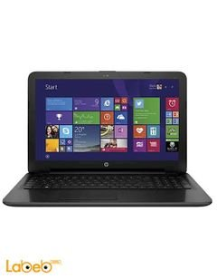 HP 250 G4 Laptop - Intel Core i3 - 500GB - 1.7GHz - Black