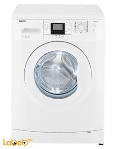 Beko washing machine - 7Kg - 1000Rpm - White - WMB71041