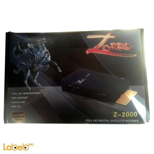 ريسيفر زورو Z-2000 اتش دي واي فاي اسود