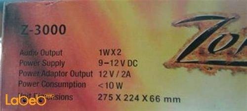 تابلت زورو zorro z-3000 لون ابيض 10 انش 16جيجا بايت 2جيجا رام ، واي فاي ، بلوتوث