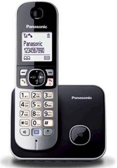 هاتف لاسلكي باناسونيك - شاشة LCD 1.8 انش - موديل KX-TG6811
