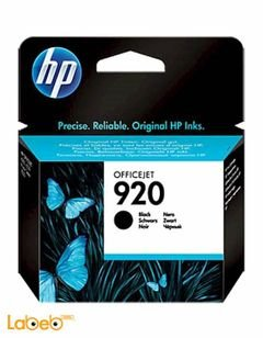 HP Officejet Ink Cartridge 920 - black color - model CD971AE