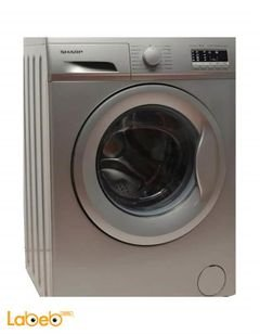 Sharp washing machines - 8 KG - 1000 RPM - Silver - ES-FE810AZ