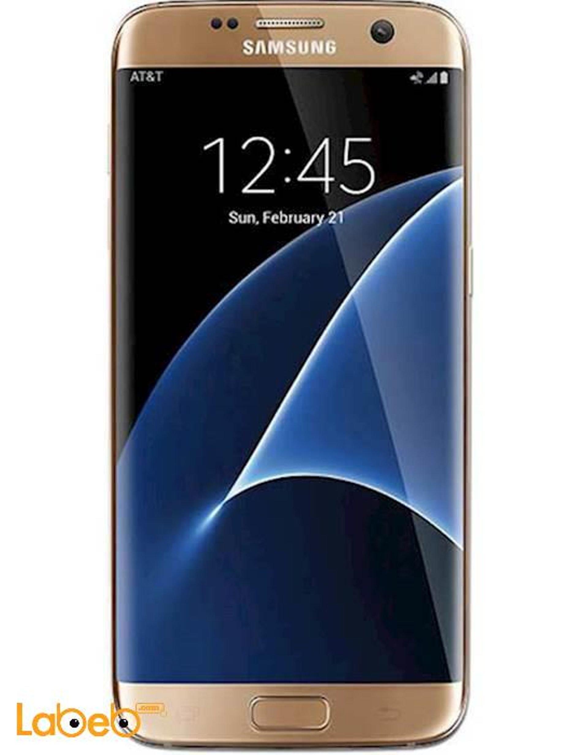 fec14270d920a موبايل سامسونج جلاكسي S7 ادج، ذهبي، ذاكرة 32GB