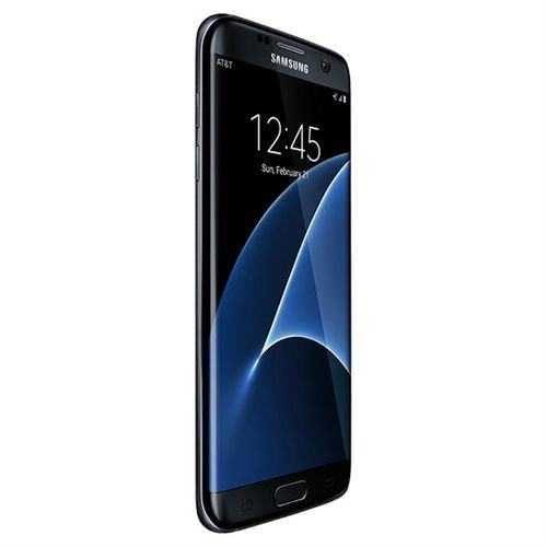 side Black Samsung Galaxy S7 edge 32GB