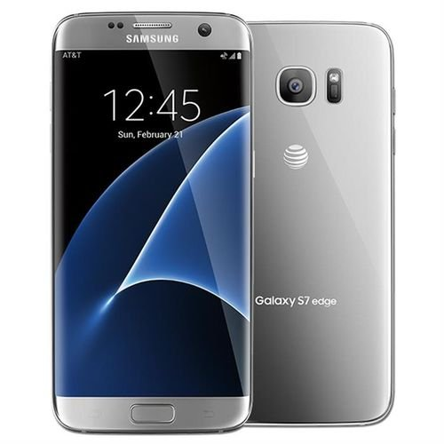 camera Silver Samsung Galaxy S7 edge 32GB