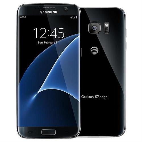 Black Samsung Galaxy S7 edge smartphone 64GB SM-G935F