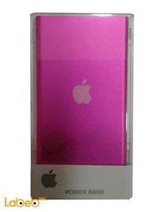 Apple Powe Bank - 8000mAh - 2 x USB Ports - Pink color