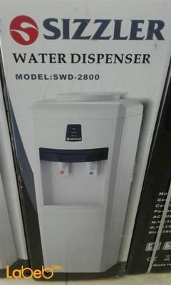 Sizzler Water Dispenser - Hot & Cold - White color - SWD-2800