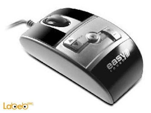 ماوس Easytouch دقة 800Dpi يو اس بي فضي ET-9600