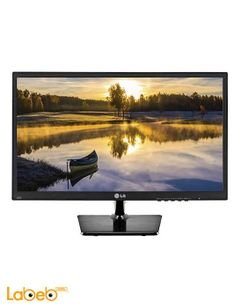 LG 19inch HD LED Monitor - Black color - 19M37A-B